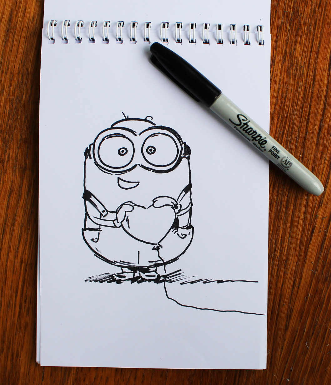 Tutorial How To Draw A Minion With Pencils Yana Travelart
